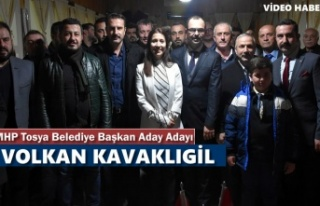 MHP TOSYA BELEDİYE BAŞKANI ADAY ADAYI VOLKAN KAVAKLIGİL...