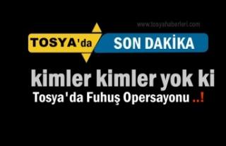 Tosya'da Fuhuş Operasyonunda 8 Kişi Tutuklandı