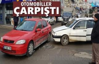 Tosya'da Meydana Gelen Trafik Kazasında İki...