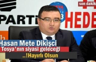 AK PARTİ TOSYA BELEDİYE BAŞKAN ADAY ADAYI HASAN...