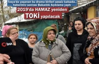 Bakan Açıkladı ''2019 yılında Tosya...