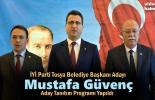 İYİ Partı Tosya Belediye Başkanı Adayı Mustafa...