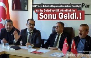 MHP Tosya Belediye Başkan Adayı Volkan Kavaklıgil...