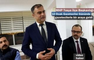 MHP Tosya İlçe Başkanlığı Gazeteciler Günü...