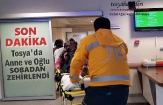 TOSYA'DA ANNE VE OĞLU SOBADAN ZEHİRLENDİ