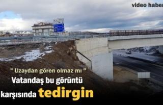 Tosya'da Vatandaş Gördüğü Manzara Karşısında...