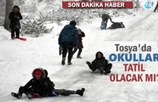 Tosya'da Yarın Okullar Tatil mi?