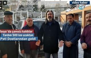 Tosya'da Yaşanan Soruna İstanbul'dan Yardım...