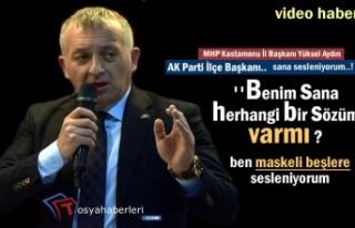 MHP Kastamonu İl Başkanı Tosya Belediye Başkanı...
