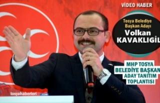MHP TOSYA BELEDİYE BAŞKAN ADAYI VOLKAN KAVAKLIGİL...