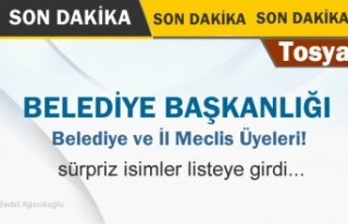 Tosya Belediye Meclis Üye Listesi Açıklandı