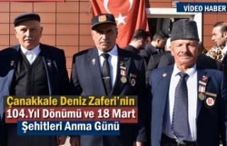18 Mart Çanakkale Zaferinin 104. Yıldönümü Tosya'da...