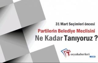 31 Mart Öncesi Seçmen Partilerin Meclis Listelerini...
