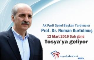 AK Parti Genel Başkan Yardımcısı Prof. Dr. Numan...