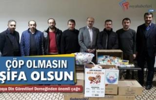Çöp Olmasın Şifa Olsun ilaç Kampanyası Tosya'da...