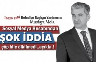 Eski Tosya Belediye Başkan Yardımcısı Mustafa...