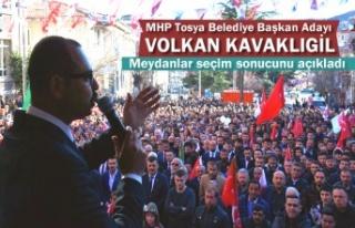 MHP Tosya Belediye Başkanı Adayı Volkan Kavaklıgil...
