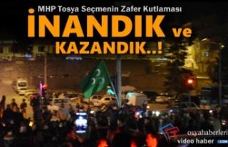 MHP Tosya Parti ve Seçim Teşkilatı Zafer Kutlamaları