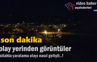 Tosya'da Meydana Gelen Tüfekle Yaralama Olayı
