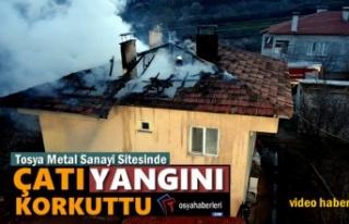 Tosya Metal Sanayi Sitesinde Yangın