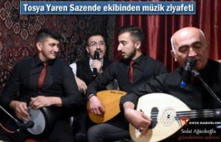 Tosya Yaren Sazende Ekibinden Musiki Ziyafeti