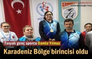 Tosyalı Genç Sporcu Karadeniz Bölge Birincisi oldu