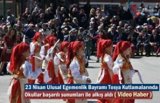 23 Nisan Ulusal Egemenlik Bayramı Tosya Kutlamaları...