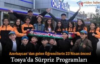 Azerbaycan Folklor Ekibi 23 Nisan Bayramı Öncesi...