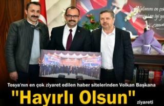 Belediye Başkanı Volkan Kavaklıgil'e Hayırlı...
