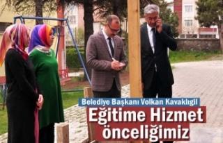 Belediye Başkanı Volkan Kavaklıgil ''Eğitim...