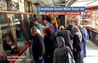Çanakkale Gezici Müzesi Tosya'da