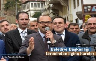 Tosya Belediye Başkanlığı Devir Töreninden İlginç...