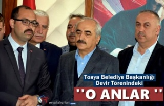 Tosya Belediye Başkanlığı Makamda Devir Töreni