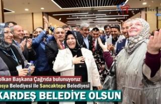 Tosya Belediyesi ile Sancaktepe Belediyesi Kardeş...