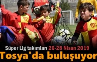 Tosya'da Hafta Sonu Futbol Şöleni Başlıyor