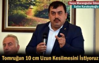 Tosya Marangozlar Odası Başkanın '' 10...