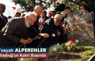Tosyalı Alperenler Alparslan Türkeş'in Ölümünün...