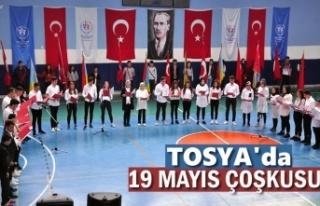 Tosya'da 19 Mayıs Atatürk'ü Anma ve Gençlik...