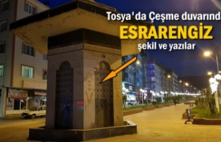 Tosya'da Çeşme Duvarına Yazılan Yazılara...