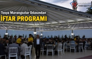Tosya Marangozlar Odası İftar Programı