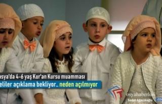 Tosya'da Yaz Kur'an Kursları 17 Haziran...
