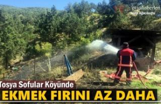 Sofular Köyünde Ekmek Fırını Yangın Tehlikesi