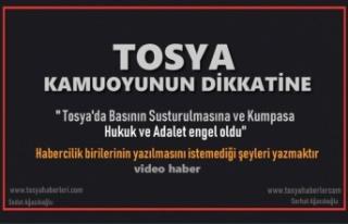 TOSYA KAMUOYUNUN DİKKATİNE