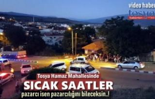 Tosya Sebze Pazarında Çıkan Kavgada Sıcak Saatler...