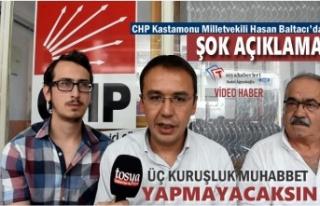 CHP KASTAMONU MİLLETVEKİLİNDEN ÖNEMLİ UYARI''HADDİNİ...