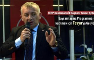 MHP KASTAMONU İL BAŞKANI YÜKSEL AYDIN BAYRAMLAŞMA...