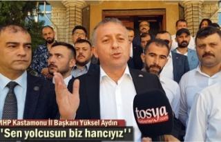 MHP KASTAMONU İL BAŞKANI YÜKSEL AYDIN'DAN...