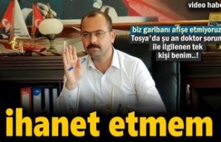 Tosya Belediye Başkanı Volkan Kavaklıgil'den...