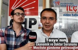 Tosya'nın Yaşadığı Sorunları Meclis Gündemine...