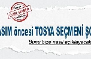TOSYA SEÇMENİ KASTAMONU MİLLETVEKİLİ LİSTESİNE...